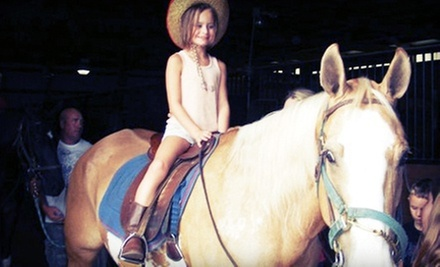 $99 for a Two-Hour Horseback-Riding Birthday Party for Up to Five Kids at Linden Hill Stables ($200 Value)