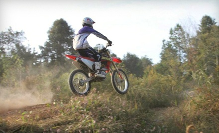Three-Hour Dirt-Bike-Riding Lesson with Bike Rental and Equipment for One or Two at MidsouthmotoX (Up to 68% Off)
