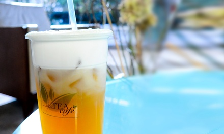 Tea or Slushies at Addictea Cafe (Up to 60% Off). Two Options Available.