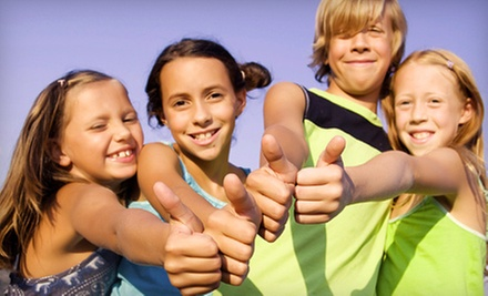 $109 for Five Full Days of a Kids&#x27; Summer Sports Camp at Evolution Sports Camps ($225 Value) 