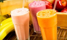 $15 for $30 Worth of Gift Certificates for Smoothies, Sandwiches, Wraps, and Soups at The Juice Press