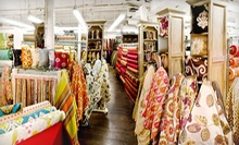 Fabric at Zarin Fabrics (Half Off). Two Options Available.