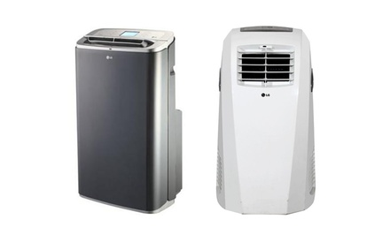 LG Portable Air Conditioners with Remote Control (Refurbished). Multiple Models Available from $229.99–$299.99.