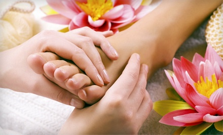 Reflexology and Detox Foot Wrap with Option for Hot-Oil Scalp Massage at Beauty Secrets (Up to 54% Off)