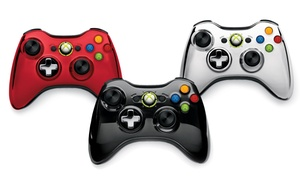 Microsoft Xbox 360 Wireless Chrome Controller