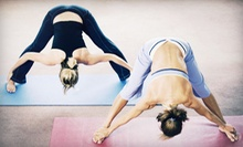 20 Yoga Classes or One Year of Unlimited Yoga Classes at Harmony Yoga & Wellness Center (Up to 72% Off)