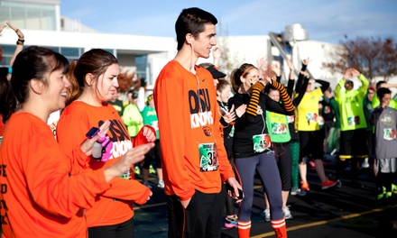 Entry for One or Two in 5K or 10K Race to the Duck vs. Beaver Rivalry Clash on November 9 (Up to 44% Off)