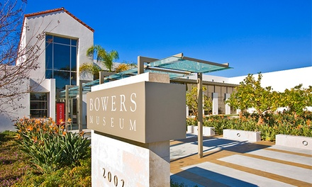 General Admission for Two or Four to Bowers Museum of Cultural Art (Up to 52% Off)