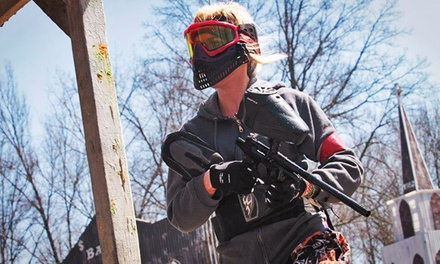 Beginners' Open-Play Package for Two or Four at Fort Knox Paintball (Up to 53% Off)
