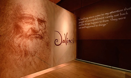 """Da Vinci The Exhibition"" Package for One or Two with Photo at The Venetian (Up to 51% Off)"