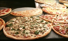 $12 for $24 Worth of Pizza, Calzones, and Subs at Franco's NY Style Pizzeria 