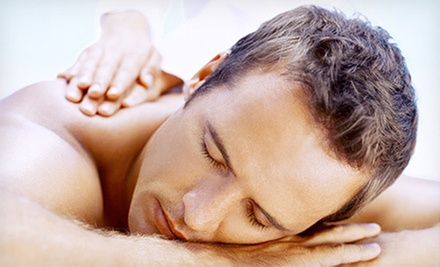 One or Three 60-Minute Massages with 5-Minute Hydro-Massages at Back to Balance Wellness Center (Up to 70% Off)