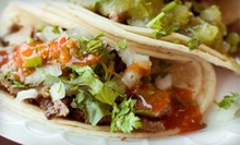 Tacos and Margaritas for Two or $5 for $10 Worth of Mexican Food at Tortilleria Villaneuva