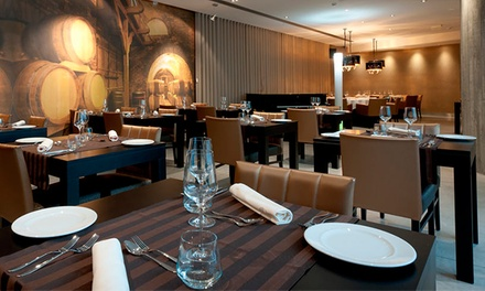 Vindouro — Lamego: menu com welcome drink, couvert, pratos principais, sobremesas e bebidas para 2 ou 4 desde 19,90€