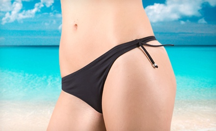 One or Two Brazilian Waxes at Miss Faces Skin Care (Up to 55% Off)