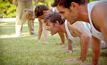 5 or 10 Drop-In Boot-Camp Classes at Rise Above Fit Camp (Up to 82% Off)