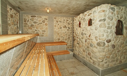 Day Pass, Massage, and Pot of Tea at Marlboro Banya (Up to 50% Off). Two Options Available.