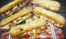 Tacos with Nachos or Sub Sandwiches with Fries for Two at Pizano's (Up to 57% Off)
