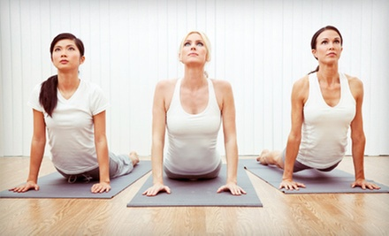 10 or 20 Yoga Classes at Center Street Yoga (Up to 77% Off)