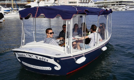 $58 for 90-Minute Electric-Boat Rental from Newport Fun Tours ($135 Value)