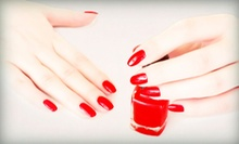Pedicure or Shellac Manicure at BC Nails (Up to 52% Off)