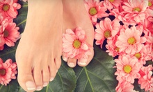 $29 for a Tangles Signature Winter Pedicure with Exfoliation and Callus Removal at Tangles Salon &amp; Spa ($65 Value)
