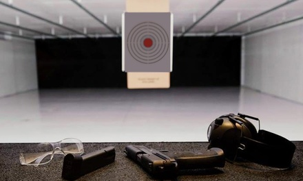 $39 for a Range Package for Two at BluCore Shooting Center ($77 Value). Groupon Reservation Required.