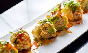Eight-course Sushi-tasting Dinner For Two Or Pan-asian Cuisine At Peony Pavilion (up To 46% Off)