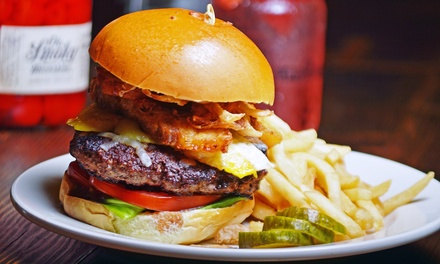 $32 for $50 Worth of Comfort Food with a Moonshine Twist at JJ Bootleggers