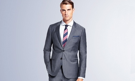 Three Custom Egyptian Cotton Shirts or One Custom Bespoke Italian Wool Suit at Peter Parvez (Up to 62% Off)