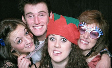 Two-Hour Photo-Booth Rental from Pix Photo Booth (Up to 60% Off). Two Options Available.