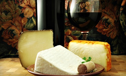 Wine and Cheese Tasting for Two or Four at California Wine & Cheese (Up to 68% Off)