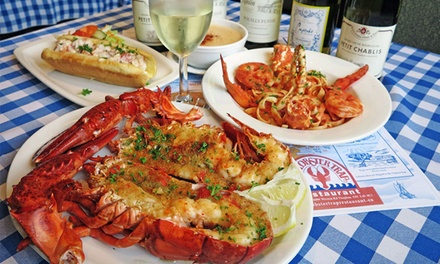 Seafood and Steaks for Two, Three, Four, or More at Lobster Trap Restaurant (Up to 51% Off)