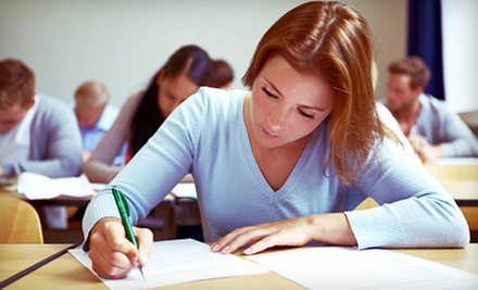 Six-Week SAT or ACT Prep Course or an Online SAT Prep Course from The College Review (Up to 67% Off)