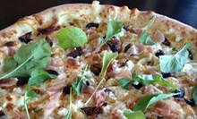 Pizza Meal for Two or Four at Time Market (Up to 52% Off)