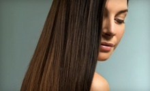 One or Two Keragreen Hair-Smoothing Keratin Treatments at Salon Eco Chic (Up to 74% Off)