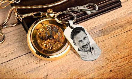 Porta-chaves personalizado com foto por 11,90€