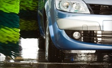 Three Hot-Wax Car Washes or Detailing Package at Speedy Green Car Wash (Up to 54% Off)