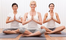 5 or 10 Flowga Classes at Yoga Heart Studio (Up to 55% Off)
