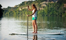 Half- or Full-Day Kayak or Paddleboard Rental or Full-Day Boat Rental at Rocketts Watersports Company (Half Off)