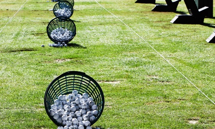 One or Two Groupons, Each Good for Buckets of Range Balls at Sycamore Driving Range & Learning Center (50% Off)