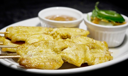 Up to 50% Off Thai Cuisine at Basil Restaurant