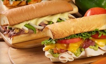 Large Sub Tray with Cookies for Up to 15 or $10 for $20 Worth of Cuisine at Mr. Goodcents Subs and Pastas in West Omaha