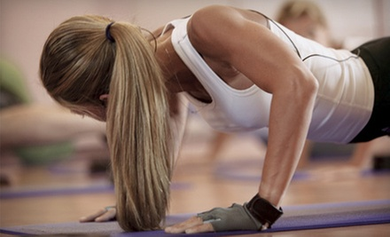 Fit Camp Classes with Nutrition-and-Wellness Coaching at Trinity24 Fit Camp (Up to 76% Off). Three Options Available.