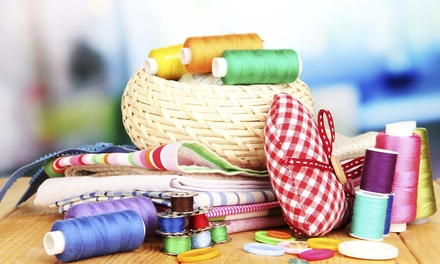 $25 for $50 Worth of Fabrics, Notions, Trims, and Classes at G Street Fabrics & Home Decorating Center