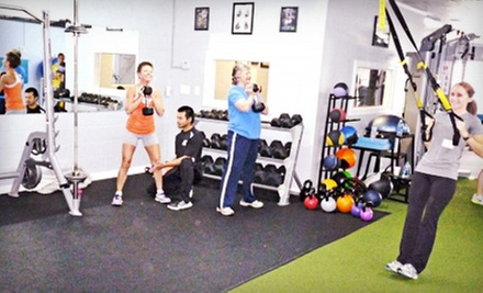 Personal-Training Sessions or One Month of Unlimited Boot-Camp Classes at Next Level Personal Training (Up to 67% Off)