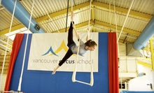 Intro to Circus Class at the Vancouver Circus School (Up to 54% Off). Three Options Available.