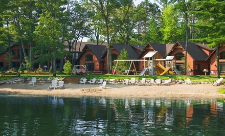 groupon daily deal - 1- or 2-Night Stay for Up to Six with Optional Pool Passes at Good Ol' Days Family Resort in Northern Minnesota