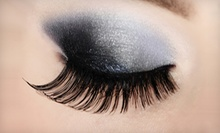 Cat-Eye Eyelash Extensions or a Full Set of Natural Eyelash Extensions at Figure Head Club Salon and Spa (Up to 61% Off)