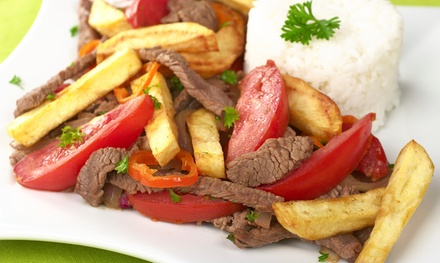 $12 for $20 Worth of Peruvian Food at The Lemon Tree Restaurant
